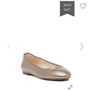 LOUISE ET CIE Cathleen ballet flats,8/38,iron!!NEW
